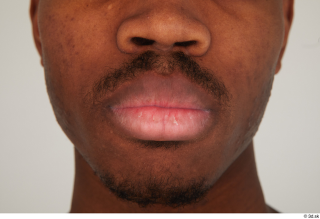 Mouth Man Black Casual Slim Street photo references