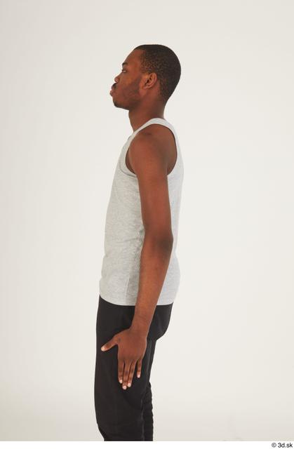 Arm Upper Body Man Black Casual Slim Street photo references