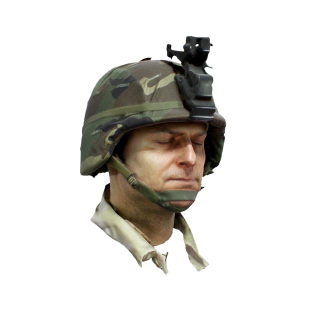 Army Uniform 3D Scan of Head