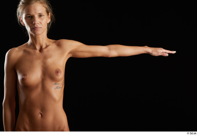 Arm Woman White Nude Underweight Studio photo references