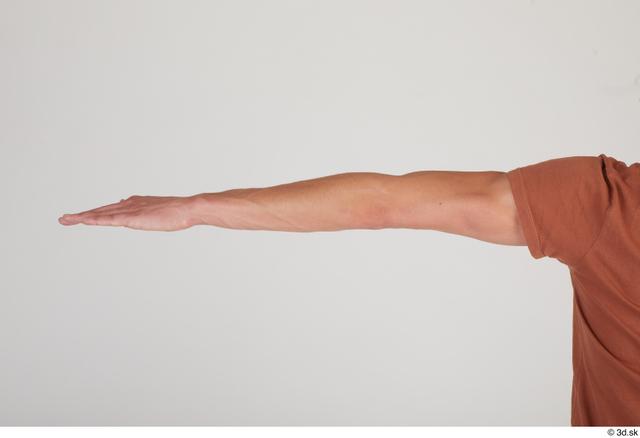 Arm Man White Slim Street photo references