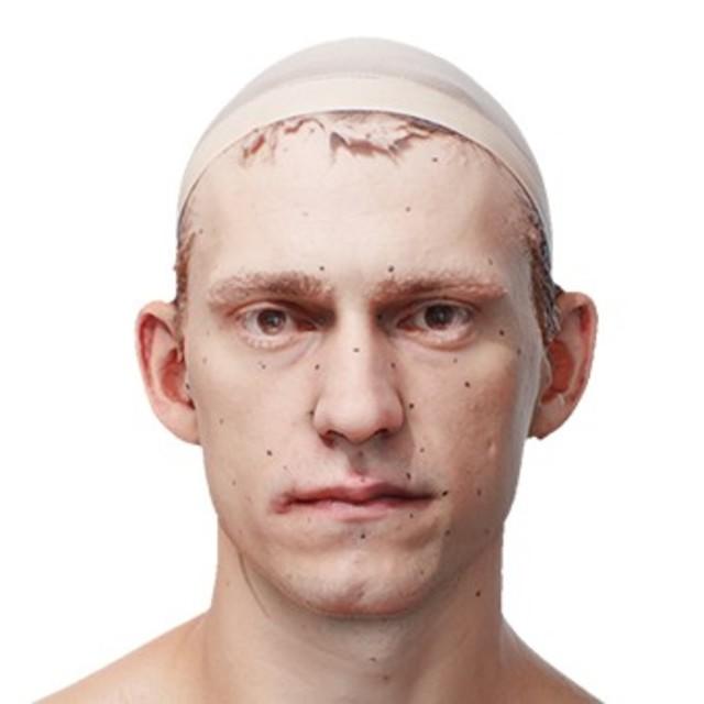 RAW 3D scan Yandel Mathews