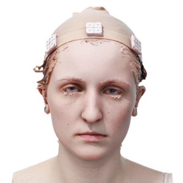 RAW 3D scan Zaria Pope