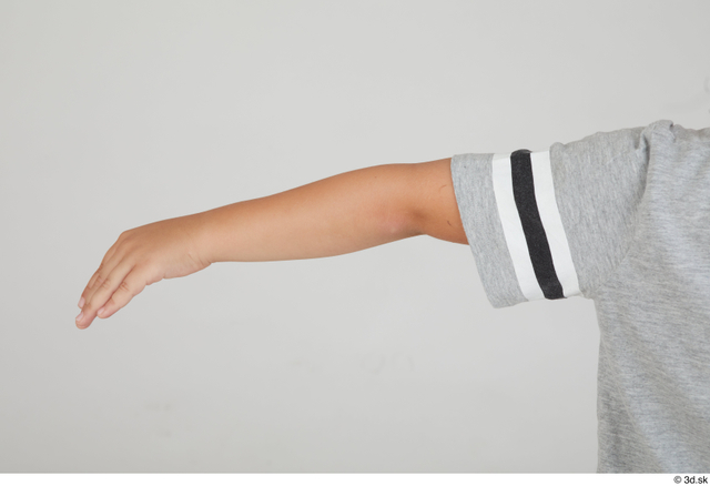Arm Man White Sports Slim Kid Street photo references
