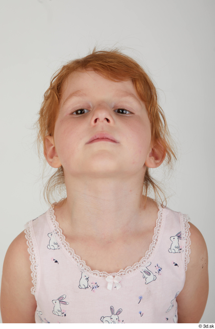 Head Woman White Casual Slim Kid Street photo references