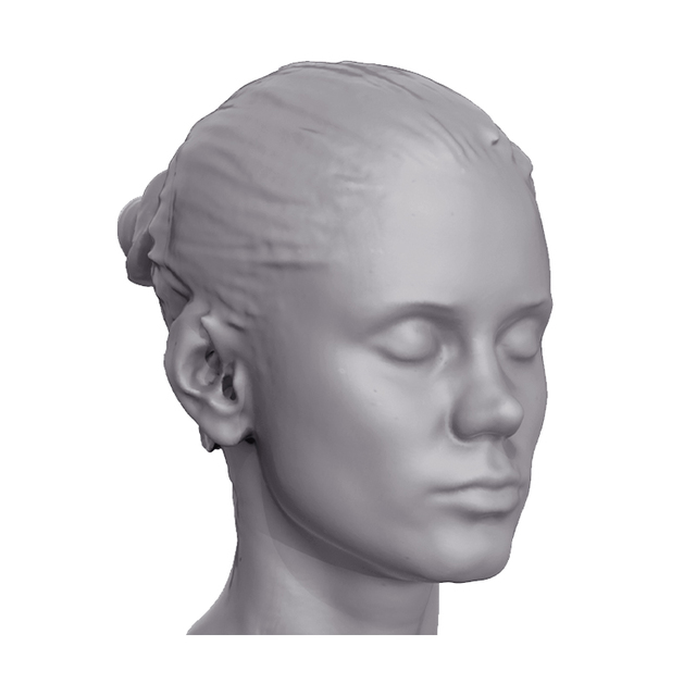 Little Caprice 3D Scan Of Head