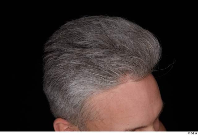 Hair Man White