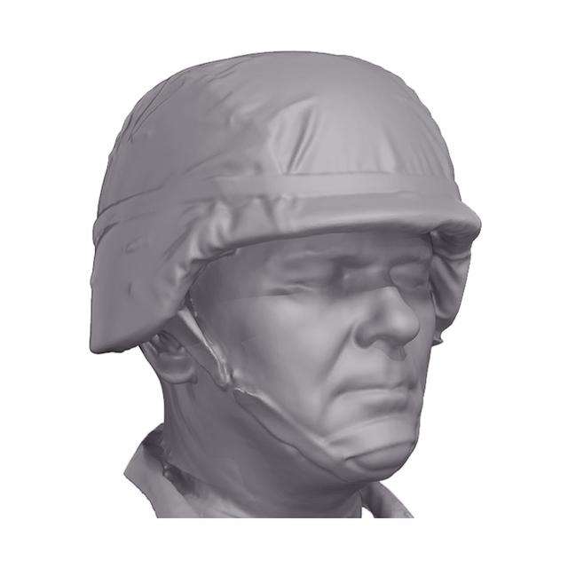 Head Man Army 3D Artec Heads