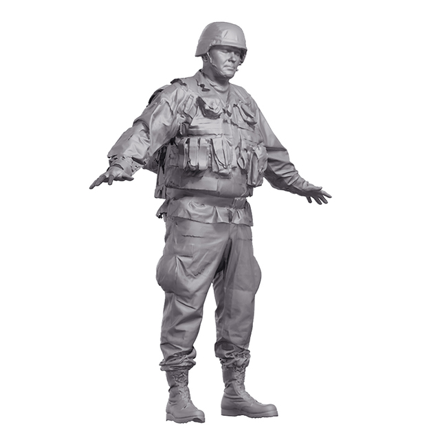 Man Army 3D Artec Bodies
