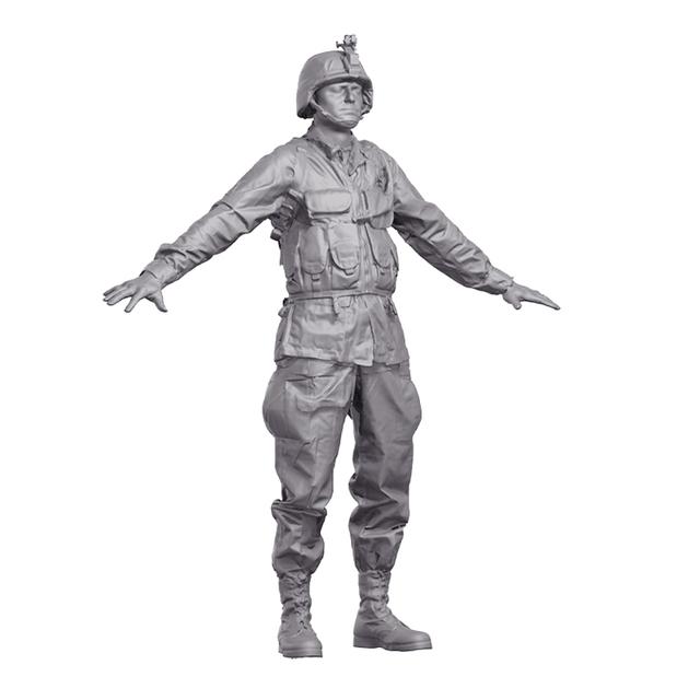 Man Army 3D Artec Bodies