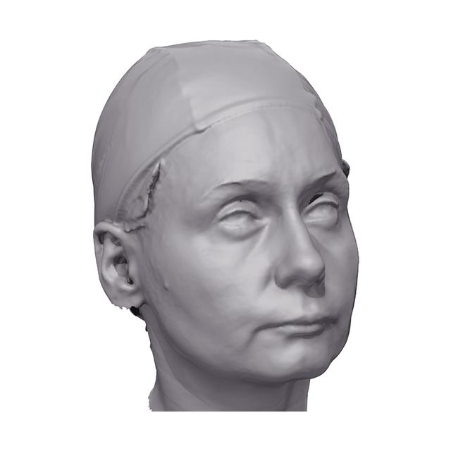 Malvina 3D Scan of Head