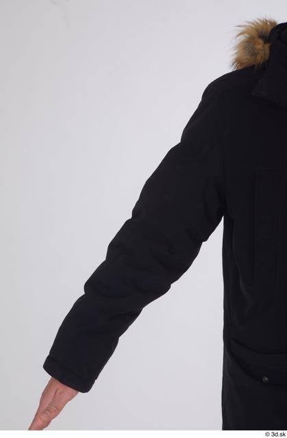 Arm Upper Body Man White Sports Coat Slim Studio photo references