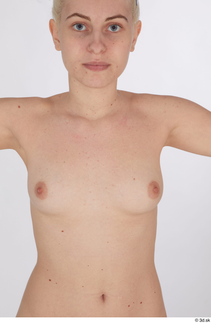 Chest Breast Woman White Nude Studio photo references