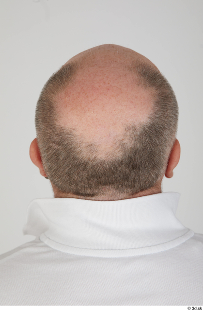 Head Hair Man White Sports Overweight Bald Street photo references