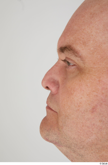 Nose Man White Sports Overweight Street photo references