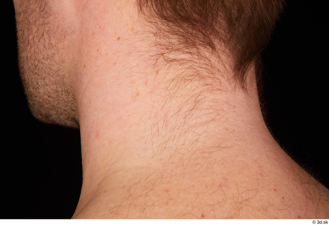 Mouth Hair Man White Studio photo references