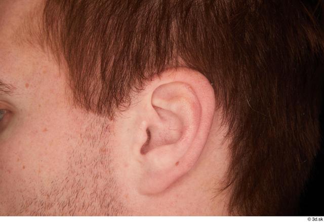 Cheek Hair Man White Studio photo references