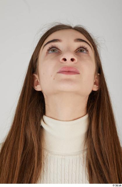 Head Woman Casual Slim Street photo references