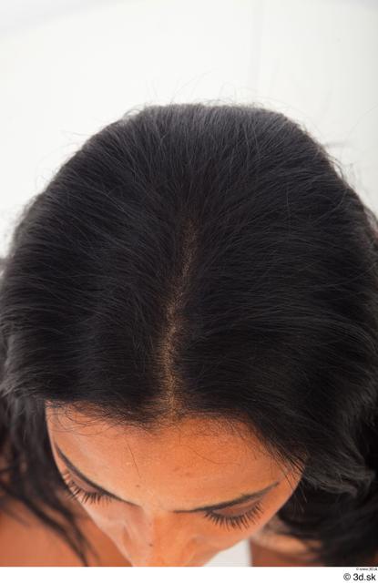 Hair Woman Black