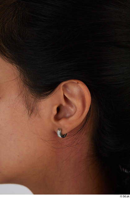 Ear Woman Casual Slim Street photo references