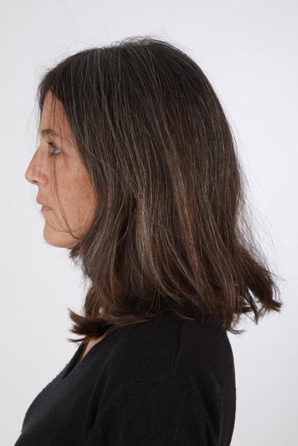 Head Hair Woman Casual Slim Street photo references
