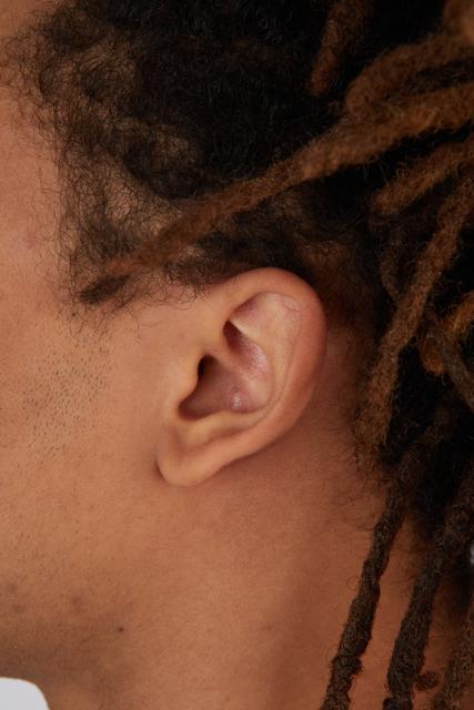 Ear Man Black Casual Slim Street photo references