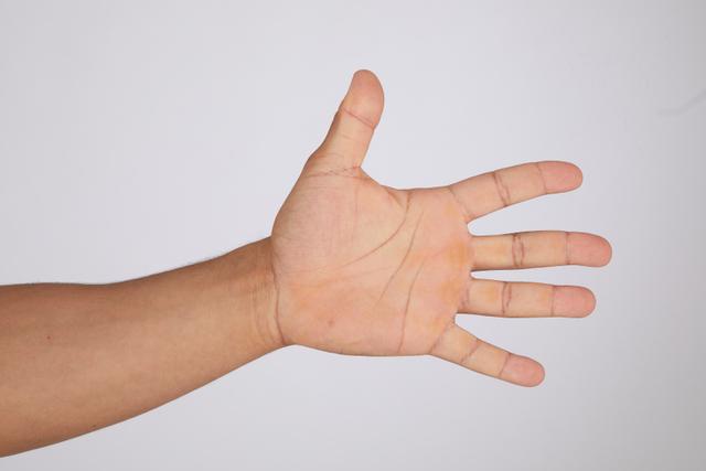 Hand Man Black Casual Slim Street photo references