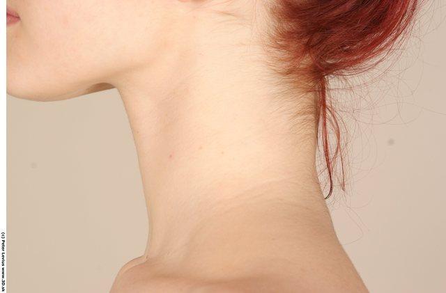 Woman White Slim Groom Photo References