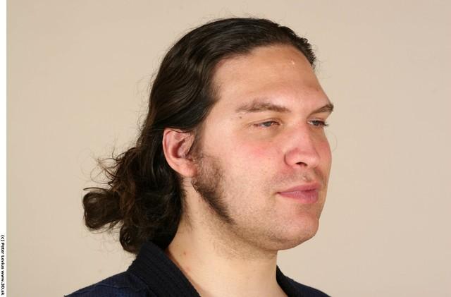 Man White Average Groom Photo References