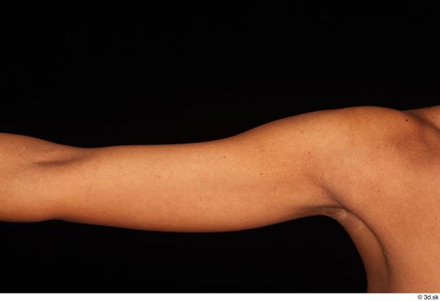 Arm Woman White Nude Slim Studio photo references