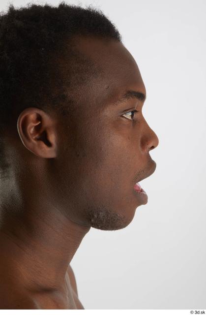 Head Man Black Slim Studio photo references