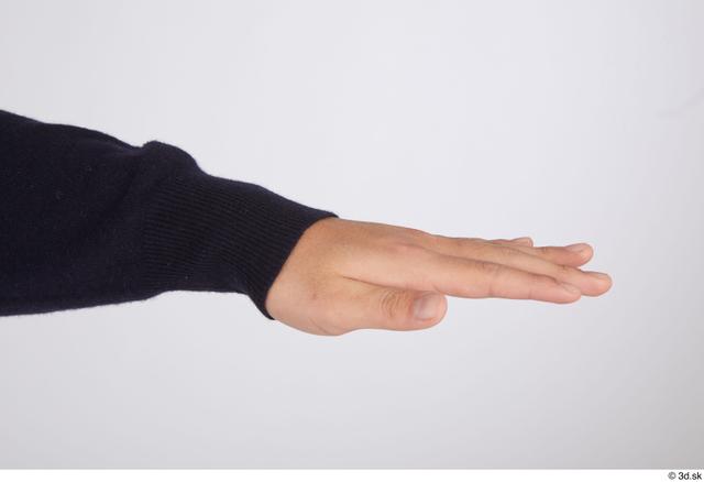 Hand Man Casual Slim Street photo references