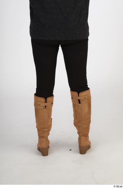 Leg Woman White Casual Slim Street photo references