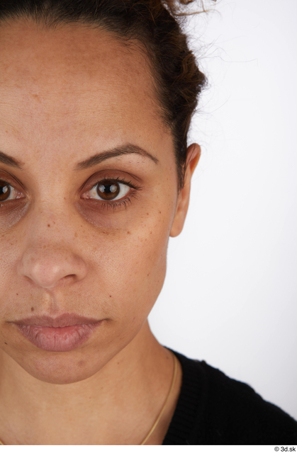 Eye Woman Black Casual Slim Street photo references