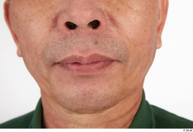 Mouth Man Asian Casual Slim Street photo references