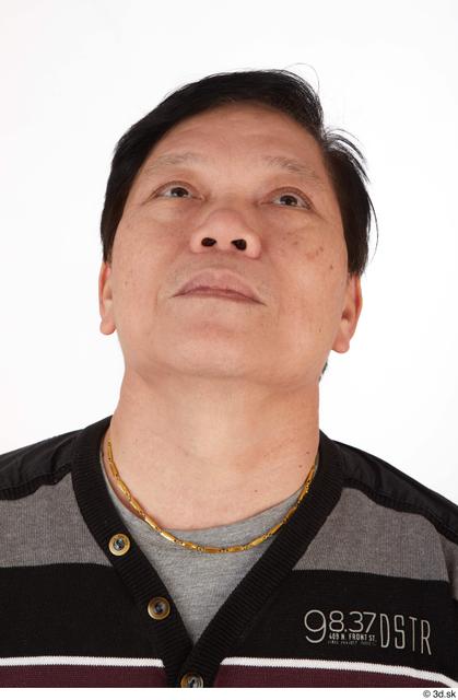Head Man Asian Casual Slim Street photo references