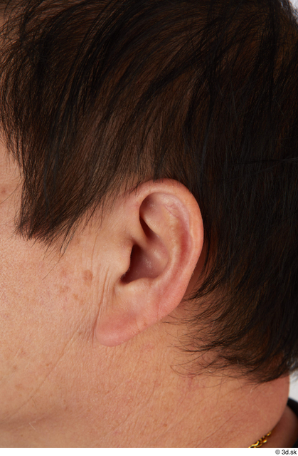 Ear Man Asian Casual Slim Street photo references