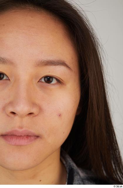 Eye Woman Asian Casual Slim Street photo references