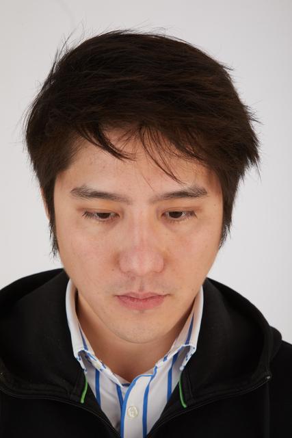 Head Hair Man Asian Casual Slim Street photo references