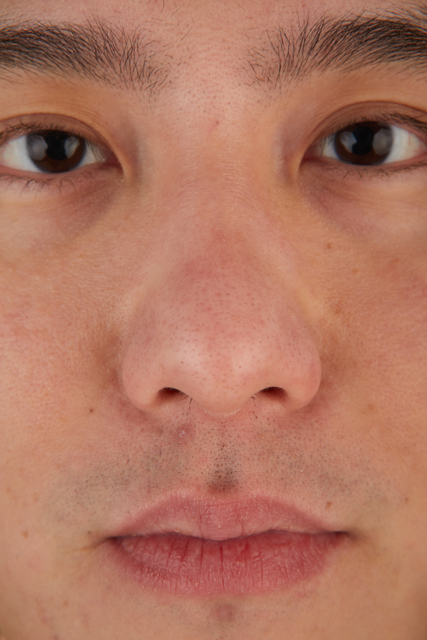 Nose Man Asian Casual Slim Street photo references