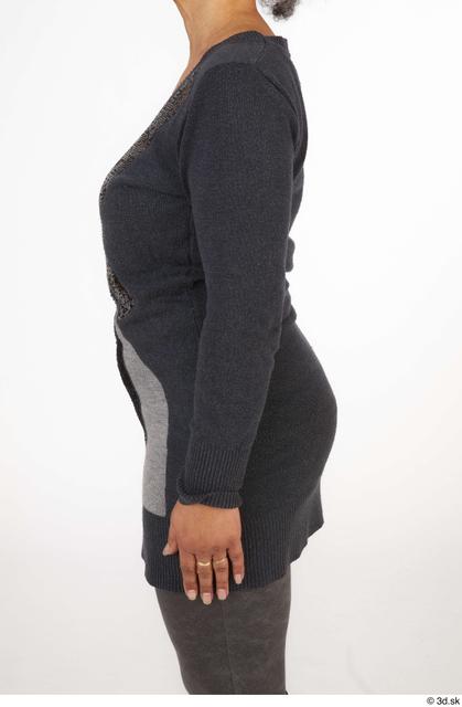 Arm Upper Body Woman Black Casual Slim Street photo references