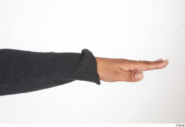 Hand Woman Black Casual Slim Street photo references