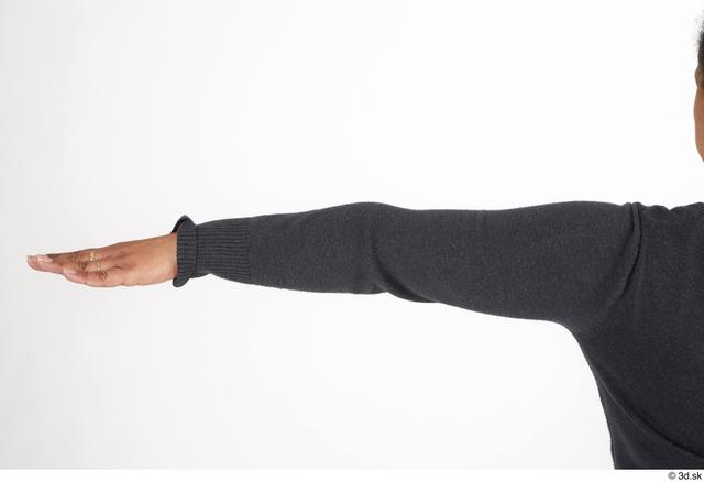 Arm Woman Black Casual Slim Street photo references