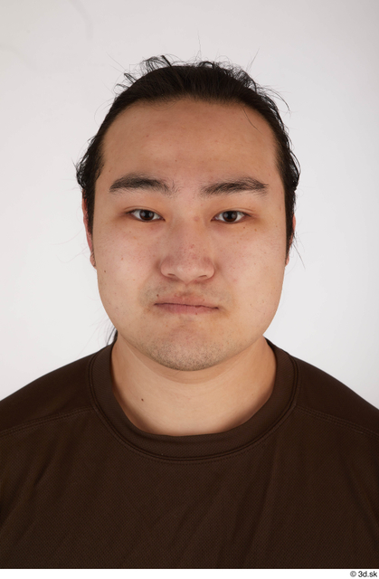 Face Head Hair Man Asian Casual Chubby Street photo references
