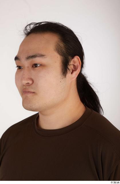 Head Hair Man Asian Casual Chubby Street photo references