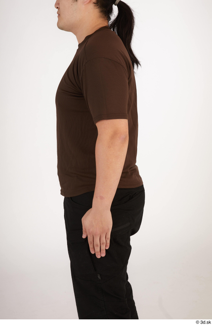Arm Upper Body Man Asian Casual Chubby Street photo references