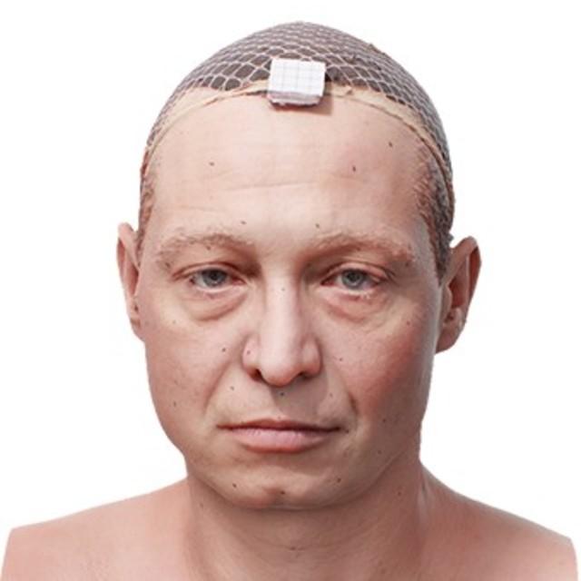 RAW 3D scan Vitalij Ferguson