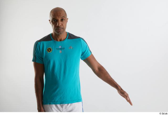 Arm Man Black Sports Shirt Slim Studio photo references