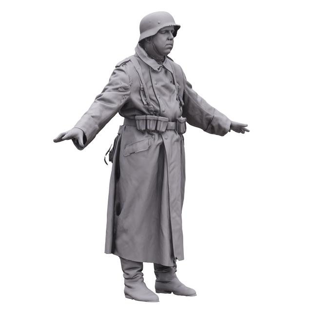 Man White 3D Artec Bodies