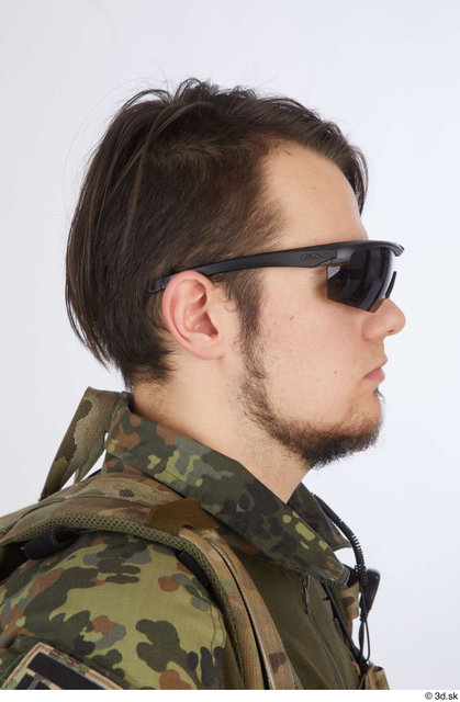 Head Hair Army Athletic Street photo references